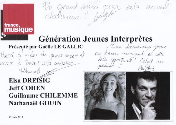Flyer Génération jeunes interprètes_Elsa Dreisig
