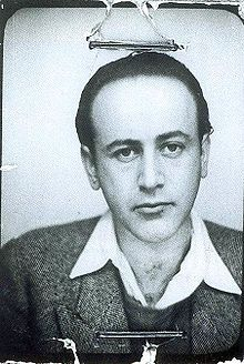 Paul Celan - photo d'identité