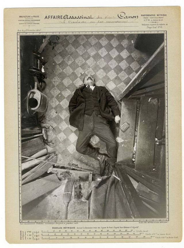 A.Bertillon, Assassinat M.Canon 9 dec1914.