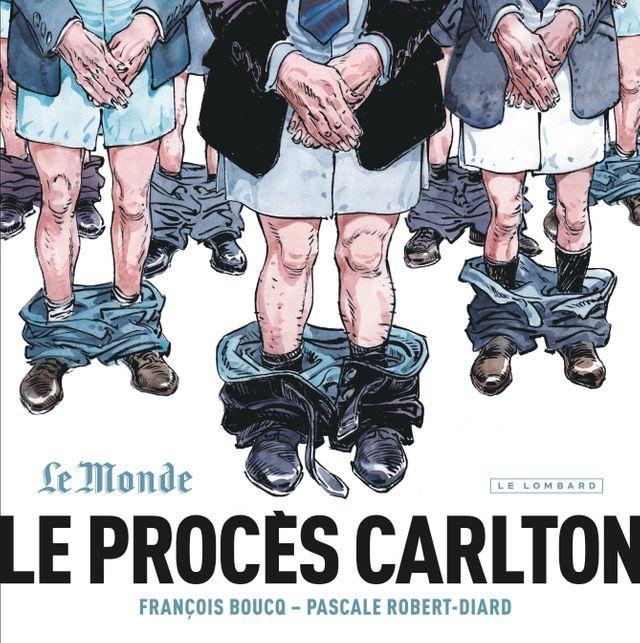 Couverture Le procès Carlton