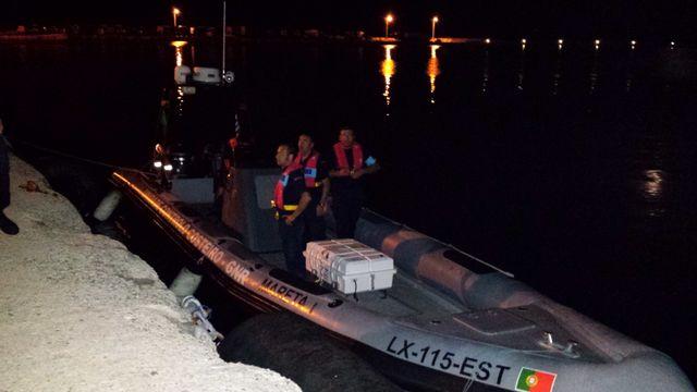 Le bateau de surveillance européen Frontex  équipage portugais