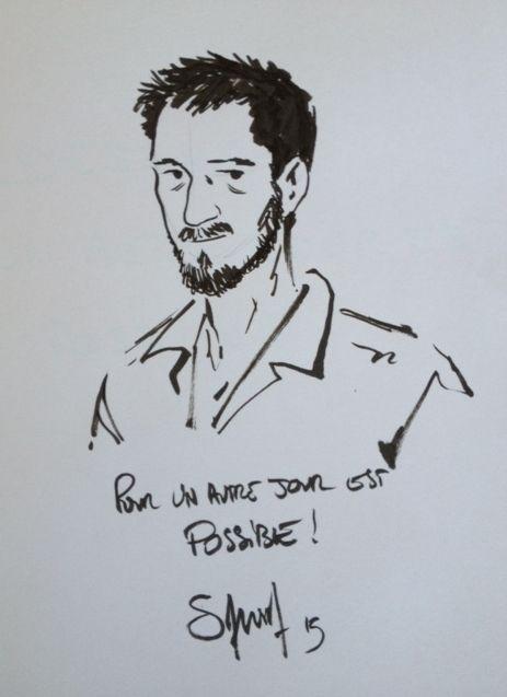 Autoportrait de Sylvain Savoia