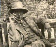 Par un bel été 1920 ... André Gide (1869-1951) © D.R.
