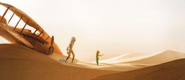 """Image extraite du film """"Le Petit Prince"""" de Mark Osborne (2015)"""