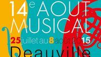 Août Musical à Deauville  2015