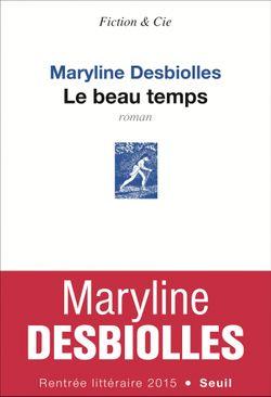 """Couverture de l'ouvrage """"Le beau temps"""""""