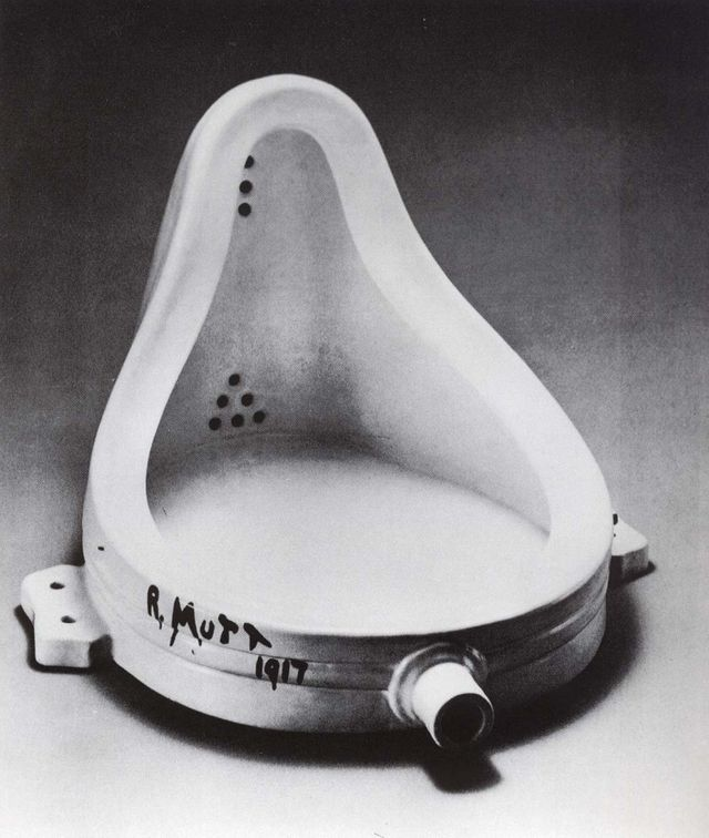 Fontaine (urinoir) de Marcel Duchamp