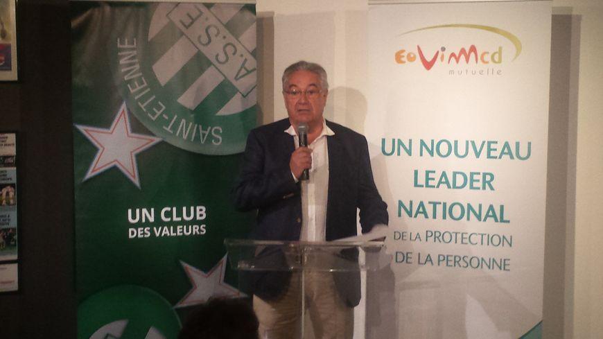 Maurice Ronat, président du Conseil d'Administration d'Eovi Mcd