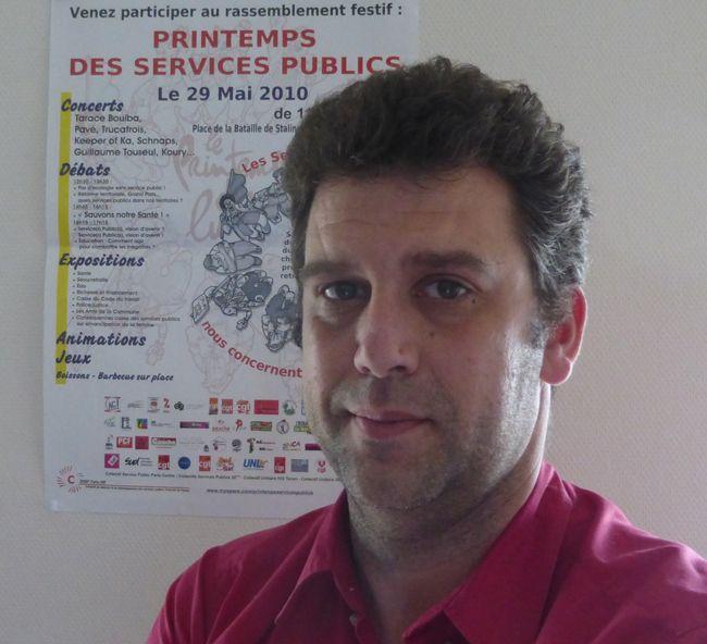 Pixel Services Publics - Michel Jallamion, président de la Convergence des collesctifs de défense des services publics