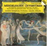 Mendelssohn /Orchestre Symphonique de Londres  Direction : Claudio Abbado DGG  423104-2