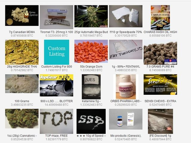 darknet :drogues