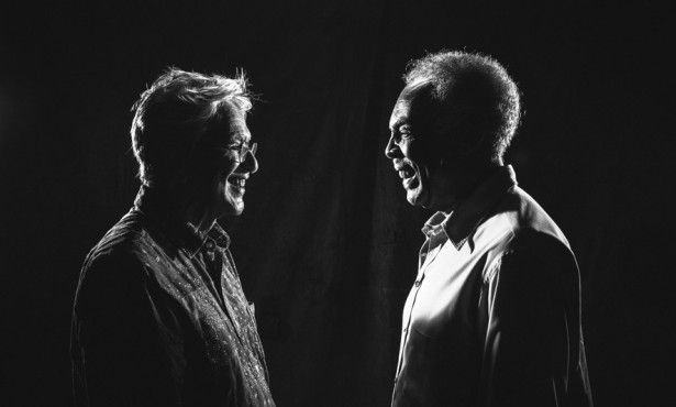 Caetono Veloso et Gilberto Gil