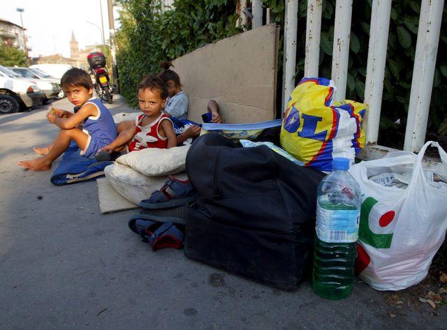 Des enfants bulgares à Toulouse.