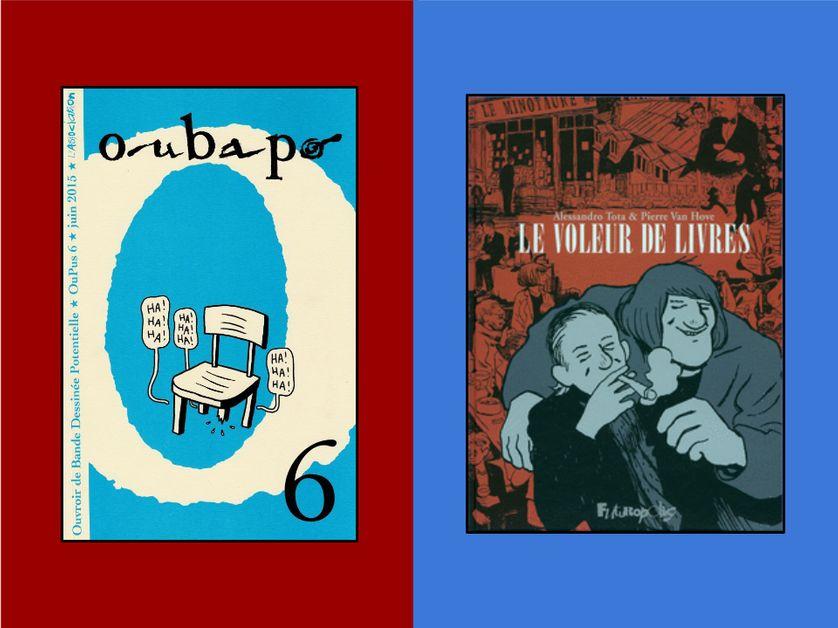 Les couvertures de nos deux BD du jour