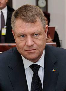 Klaus Iohannis, président de Roumanie