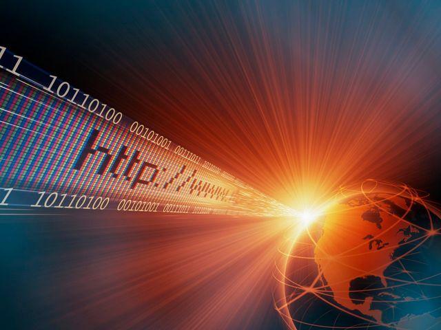 URL, code binaire et planète terre