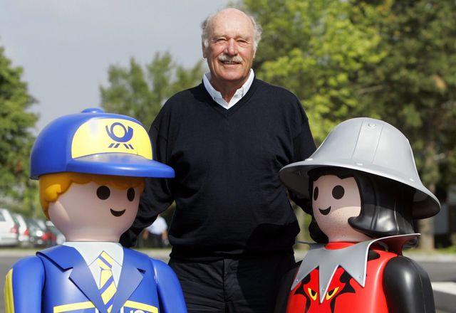 Horst Brandstätter, créateur des Playmobil