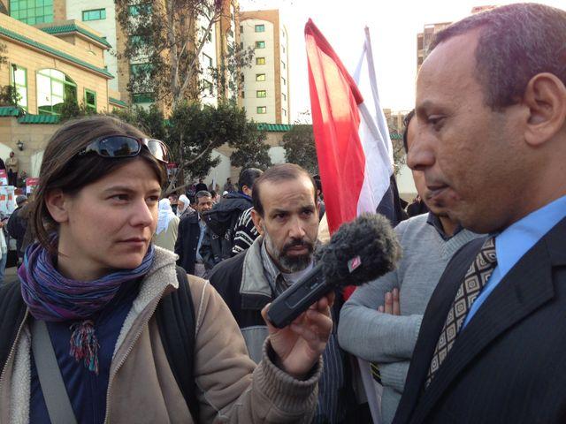 Vanessa Descouraux en Egypte