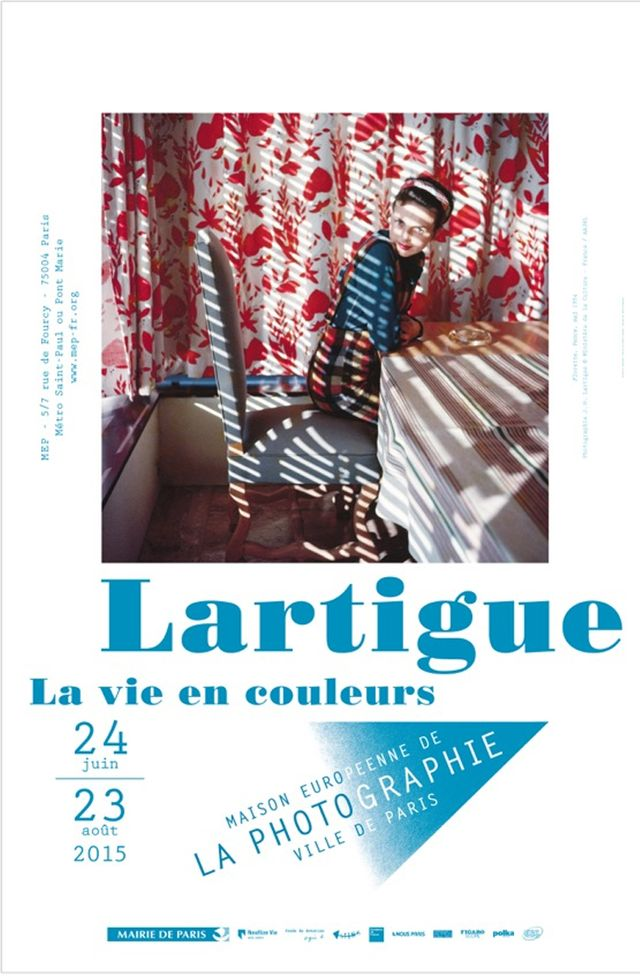Affiche exposition Lartigue