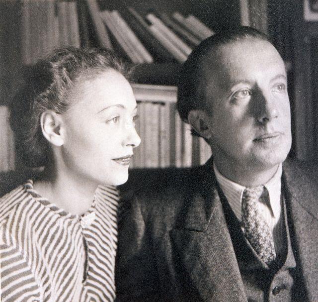 Paul Eluard et Nusch (vers 1930)