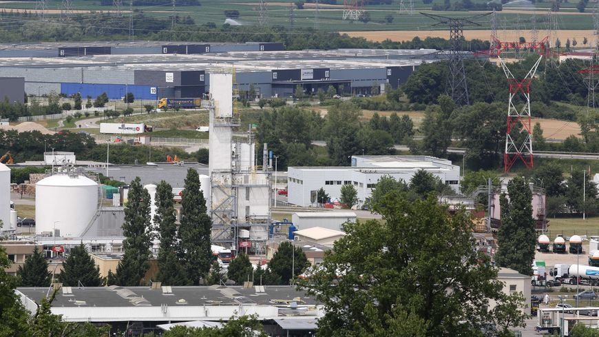L'usine Air Products de Saint-Quentin-Fallavier, où a eu lieu l'attentat