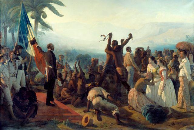 Proclamation de l'abolition de l'esclavage dans les colonies françaises