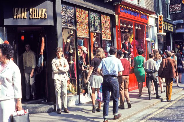 Carnaby Street - 1968