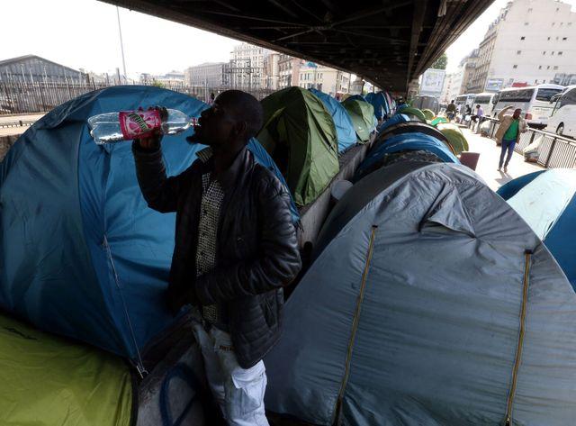 Le campement du boulevard de la Chapelle a été évacué le 2 juin.
