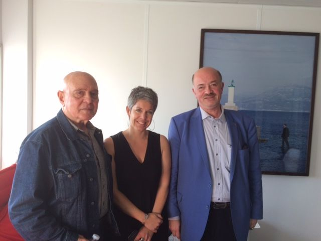 Gérard Chaliand, Claude Guibal, Alain Bauer