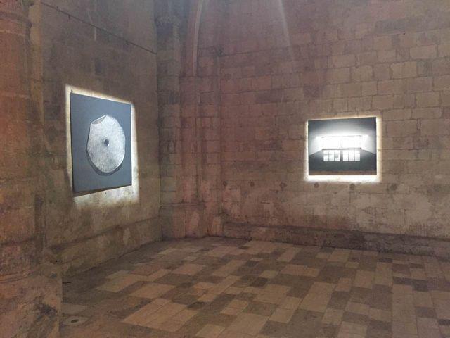 Oeuvre de  l'artiste chinois Liang Shaoji