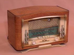 TSF-vieux poste de radio ECR