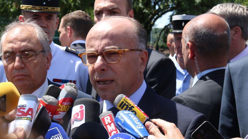 Bernard Cazeneuve, ministre de l'Intérieur (illustration)