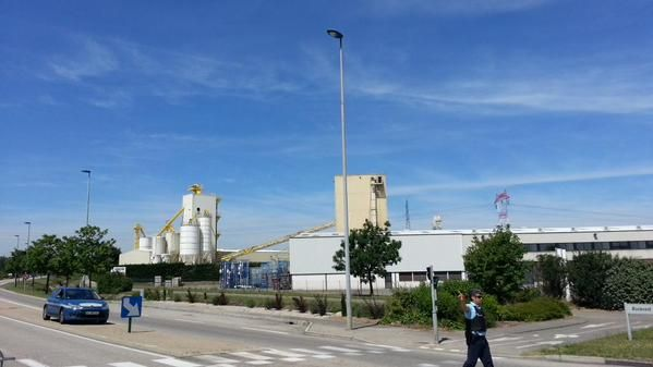 L'usine Airproducts de Saint-Quentin-Fallavier
