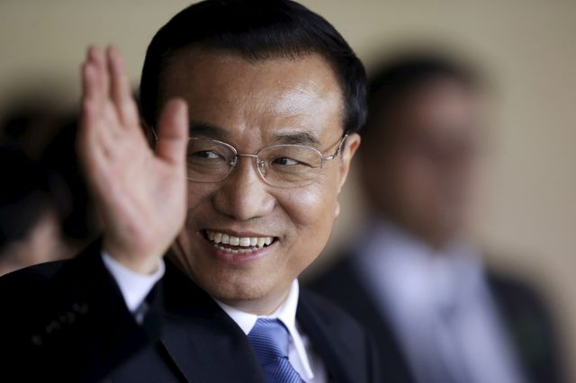 Le Premier ministre chinois Li Keqiang