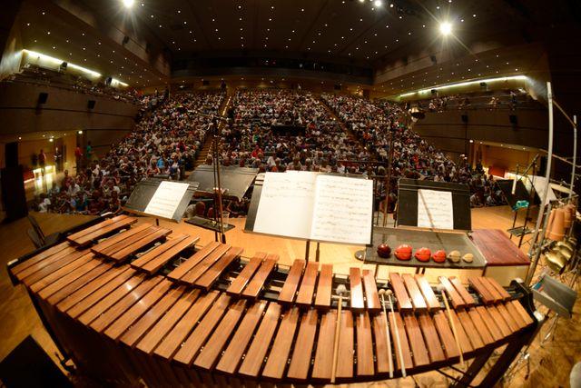 Le Corum Salle Pasteur Festival Radio France et Montpellier