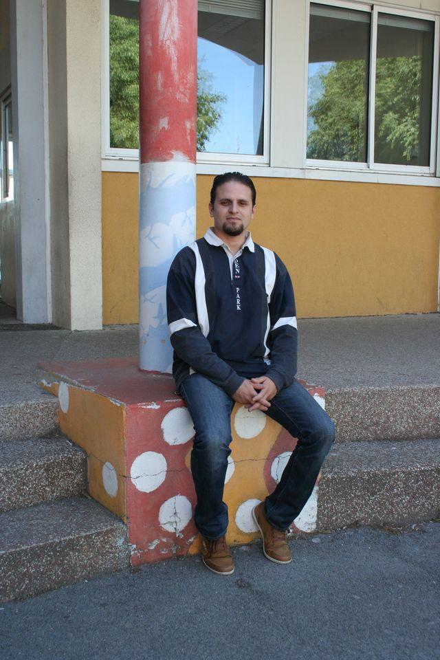 Mourad Benchellali au Collège Frédéric Mistral à Lunel