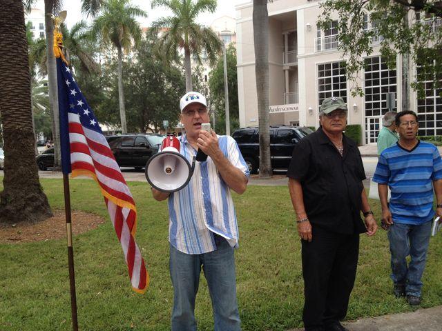 Anti castristes à Miami