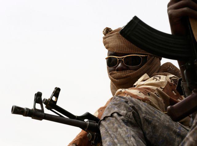 Soldats tchadiens face à Boko Haram