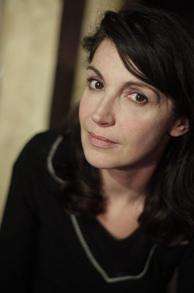 """Zabou Breitman (2013 : au Thêatre de Nice dans la pièce """"La Compagnie des spectres"""" d'après le roman de Lydie Salvayre)"""