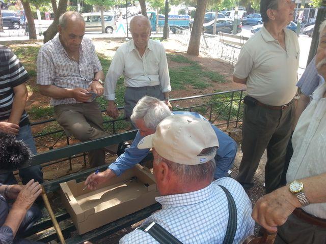 Les retraités grecs ont déjà vu leurs pensions baisser