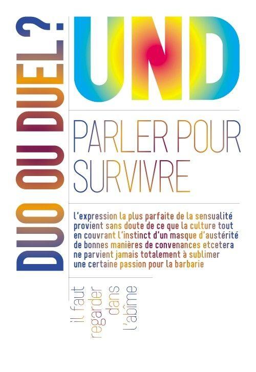"""Natalie Dessay et Jacques Vincey-affiche de """"Und"""""""