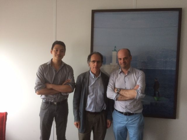 Son-Thierry Ly, Martin Andler, Jean-Michel Blanquer