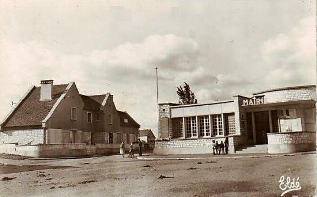 La mairie d'Epron au début des années 50