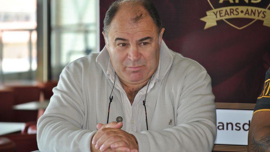 Bernard Guasch (Président des Dragons Catalans)