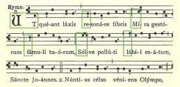 Hymne Jean Baptiste
