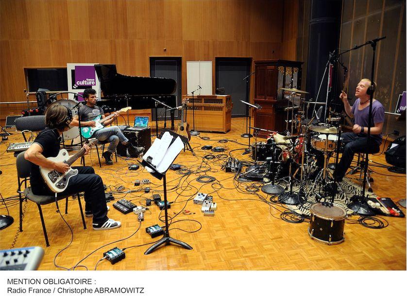 Enregistrement en studios