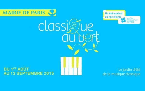 Affiche festival Classique au Vert