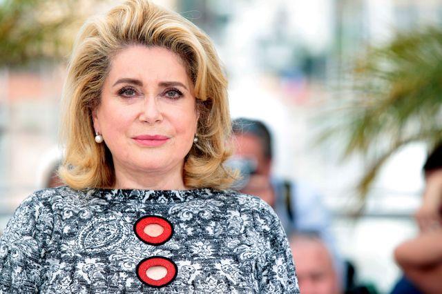 Catherine Deneuve, Cannes 2015.