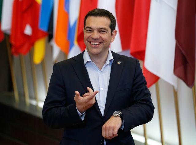 Alexis Tsipras à Bruxelles