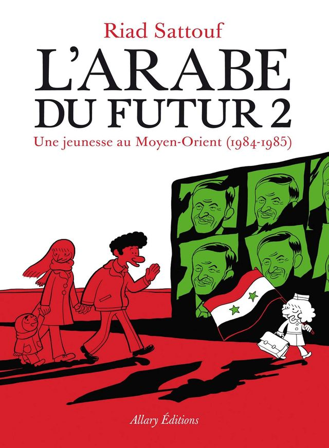 Couverture de L'Arabe du futur 2